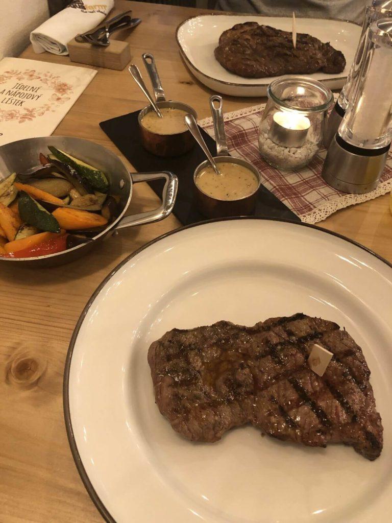 Hovězí steak Angusfarm