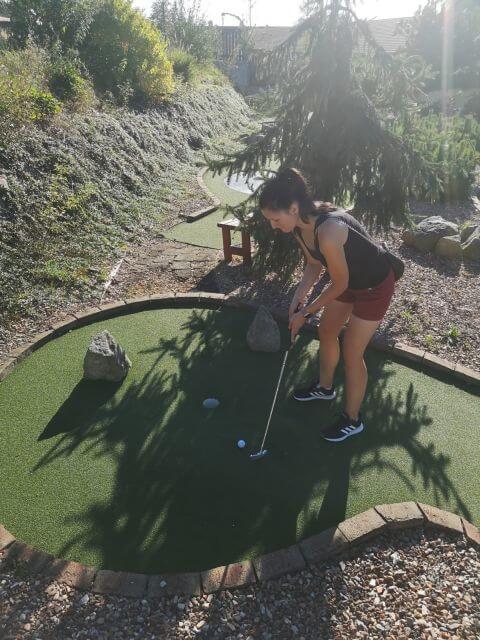 Maruška na golfu