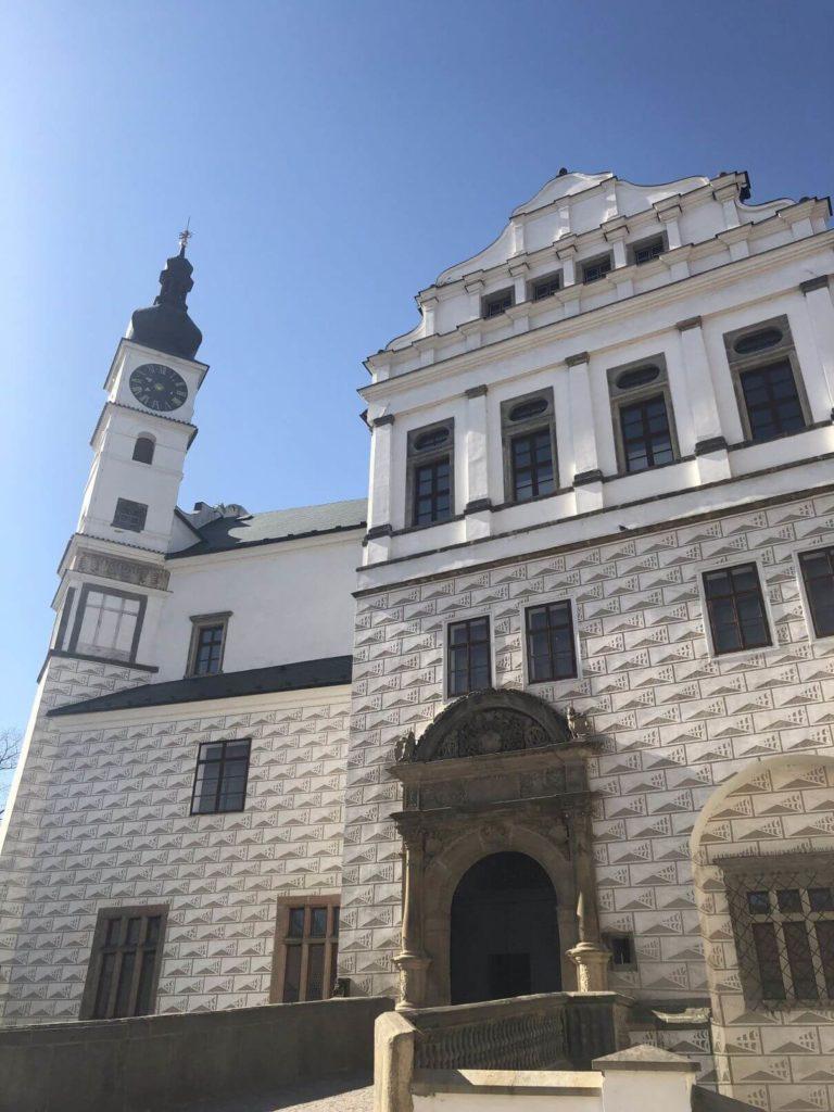 Na zámku Pardubice