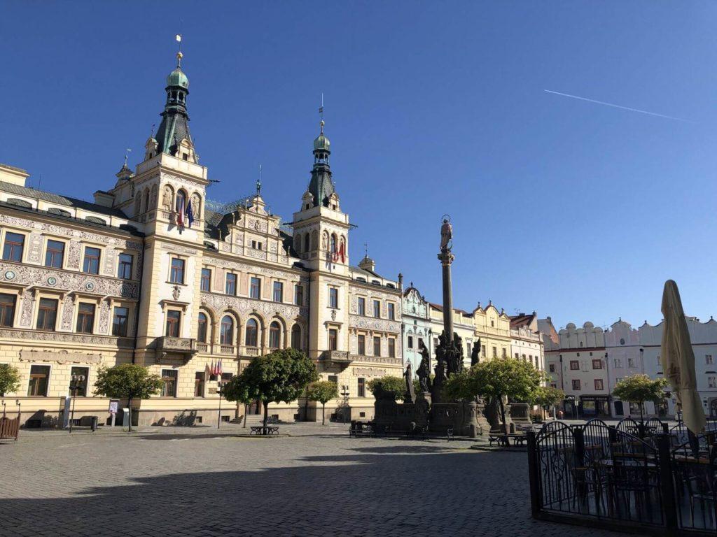 Náměstí Pardubice