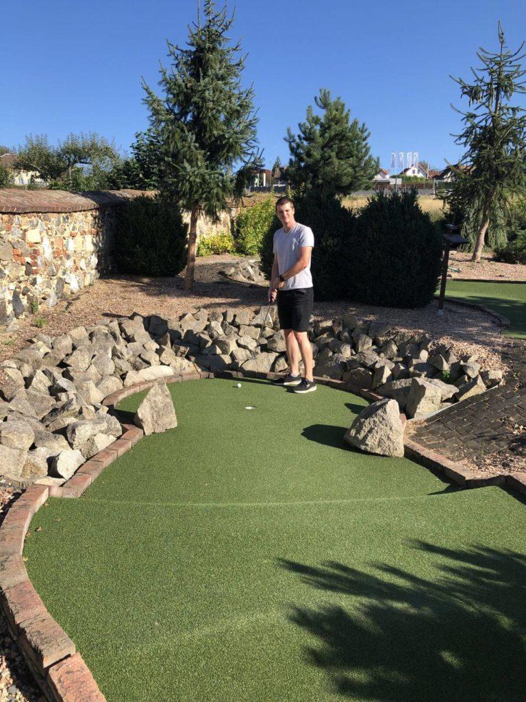Petr na golfu