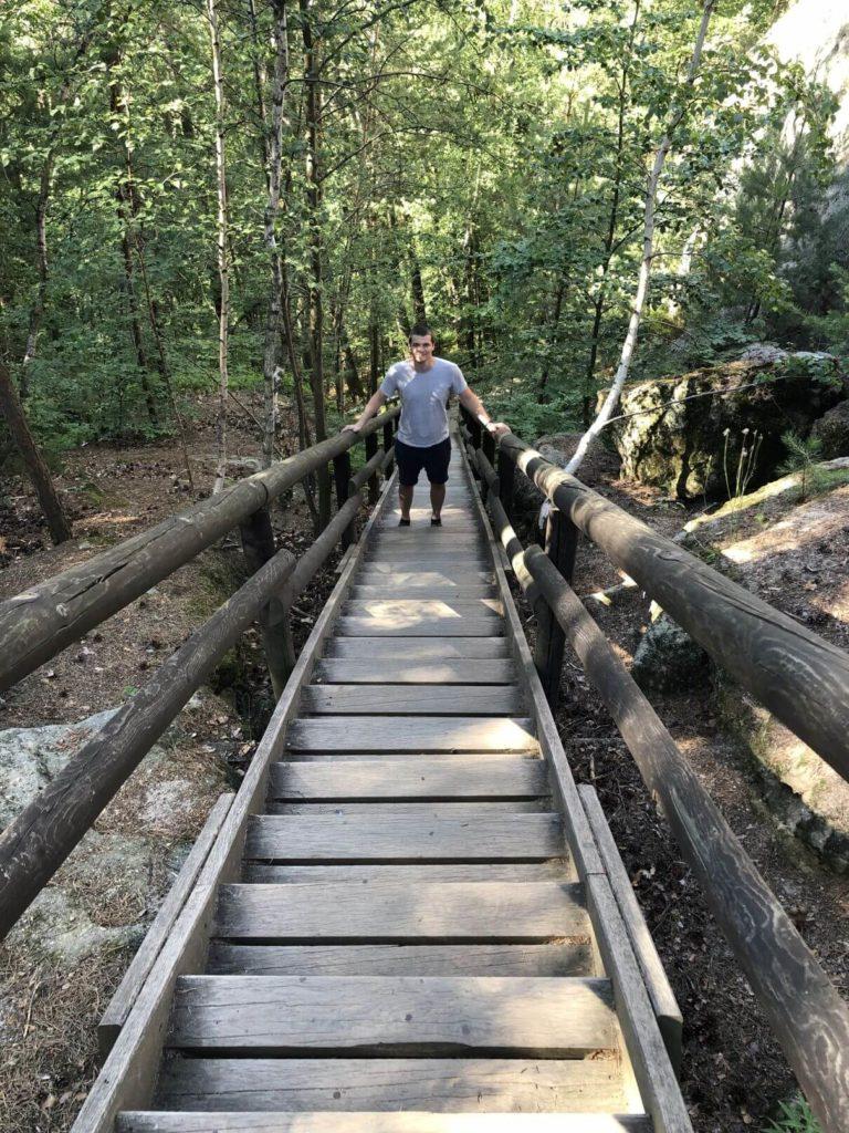 Pokličky schody