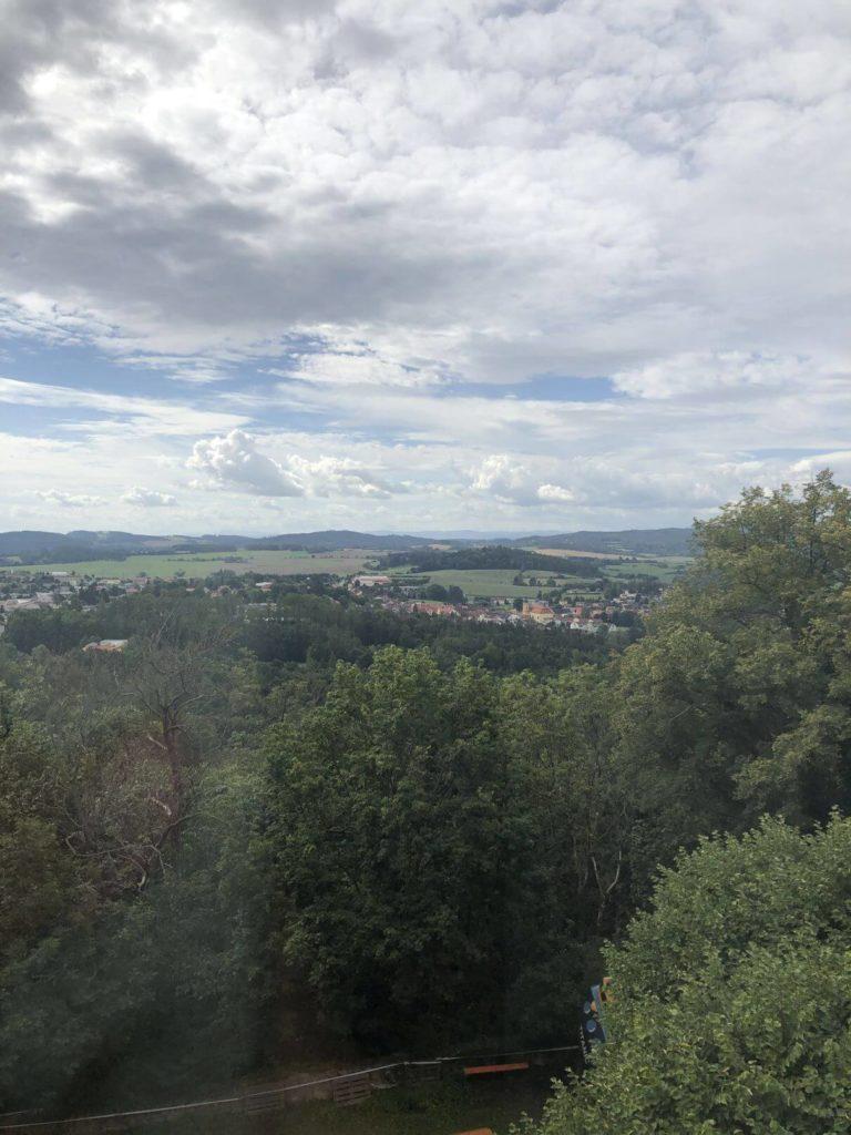 Výhled ze Zelené Hory