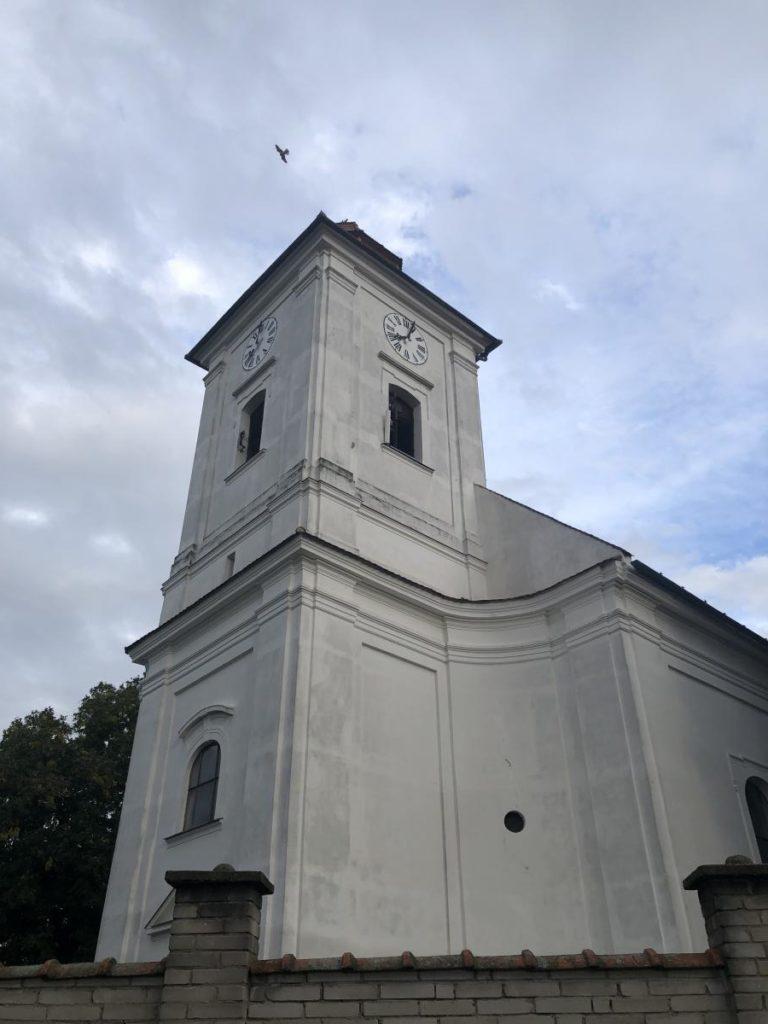 Bořetice kostel