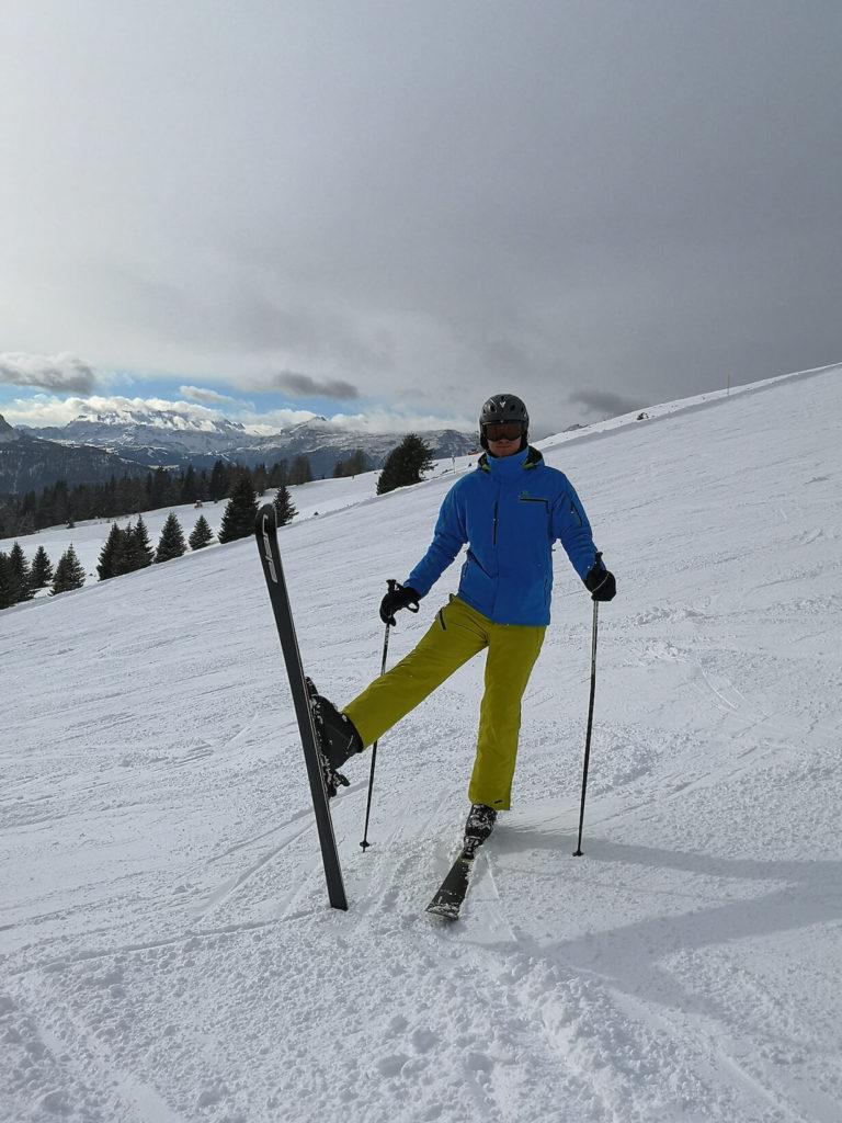 Kronplatz na lyžích - Itálie