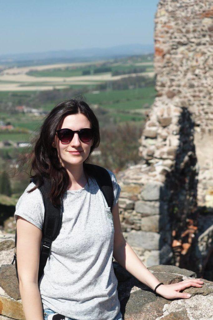 Marie na hradě