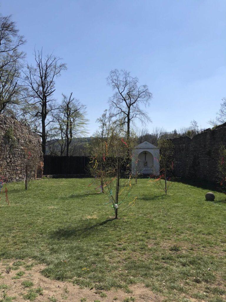 Na hradě Potštejn