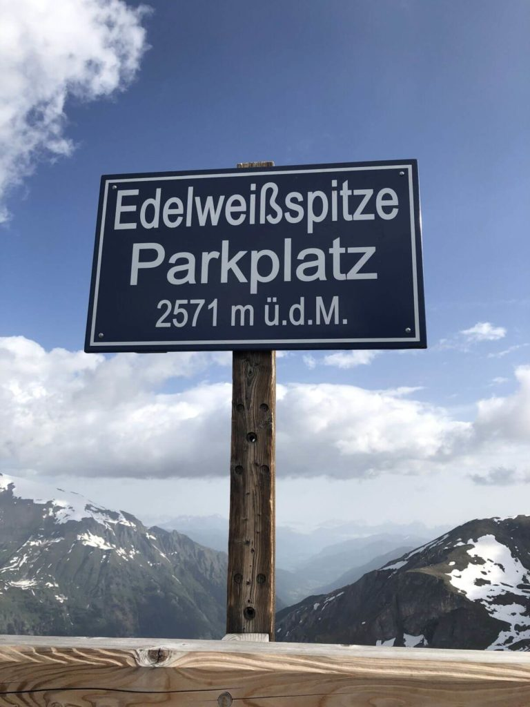Parkování Edelweisspitze