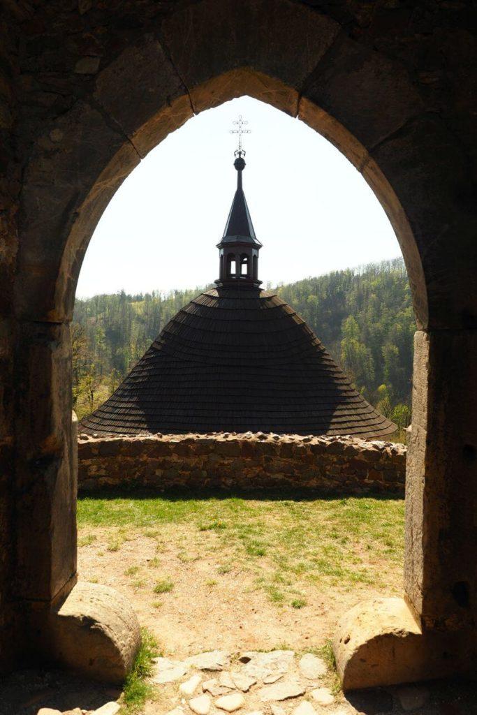 Pohled na kapli