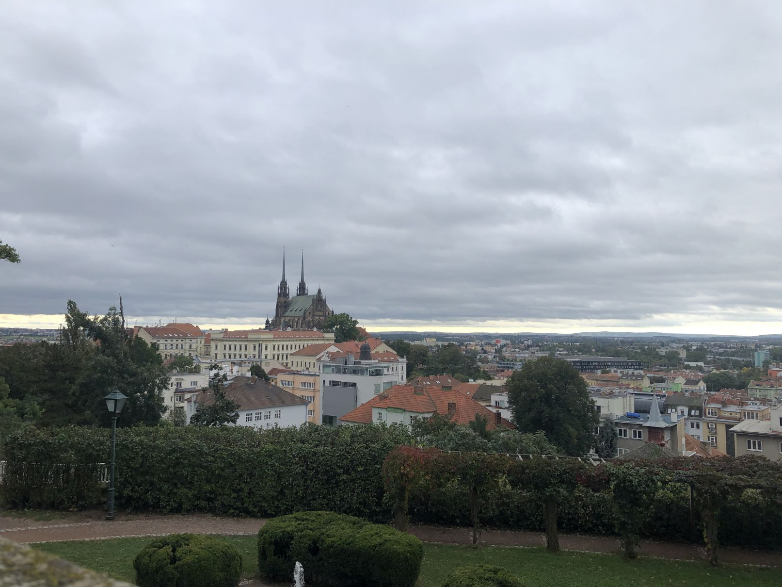 Výhled na Brno
