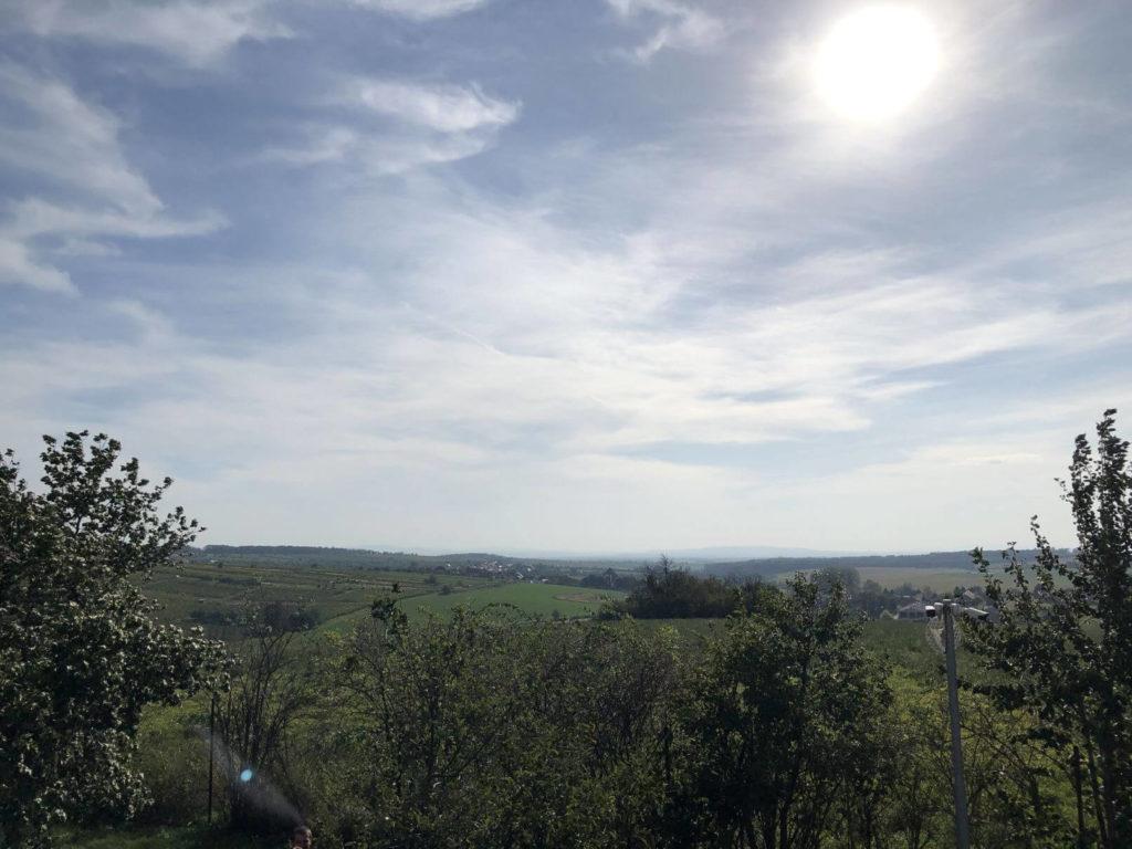 Výhled od mlýna