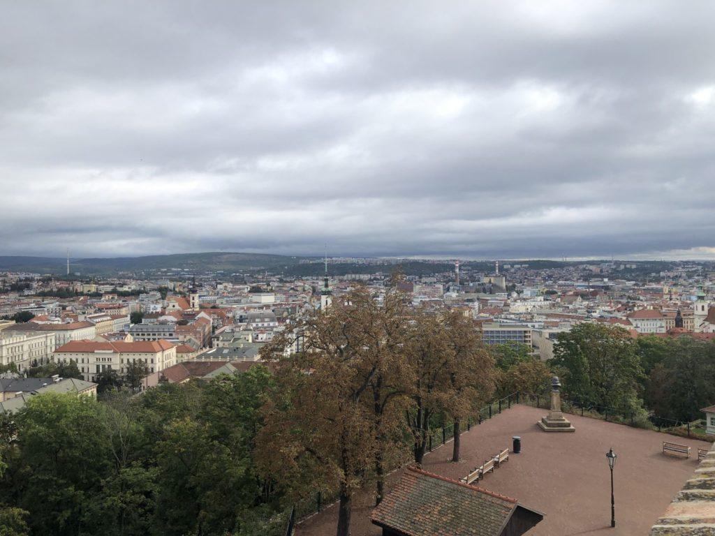 Výhled ze Špilberku