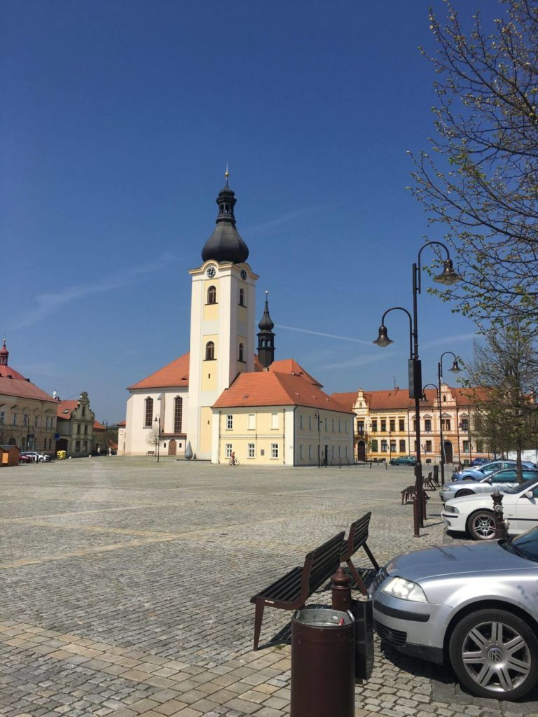 Dobřany náměstí