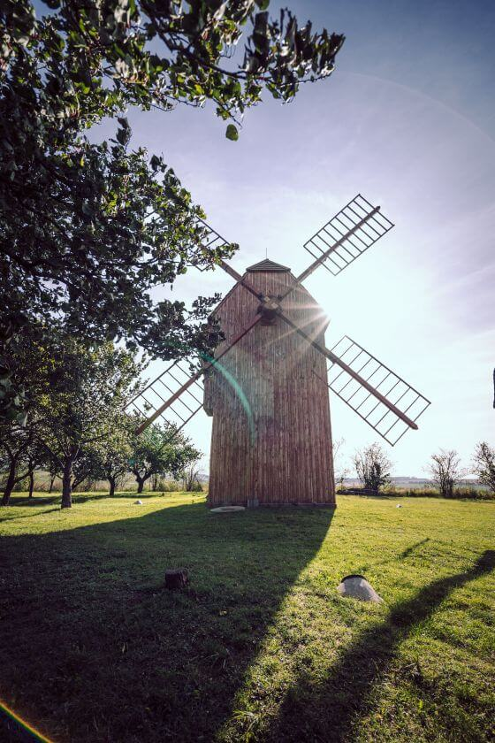 Jižní Morava větrný mlýn
