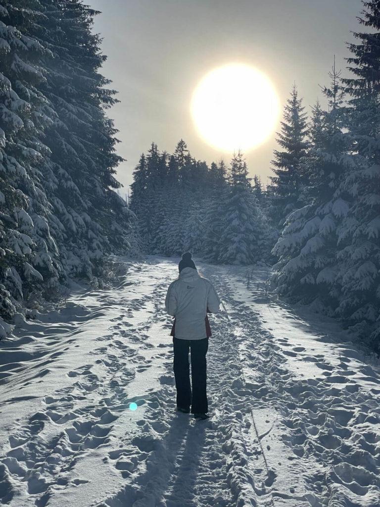 Výlet za sněhem