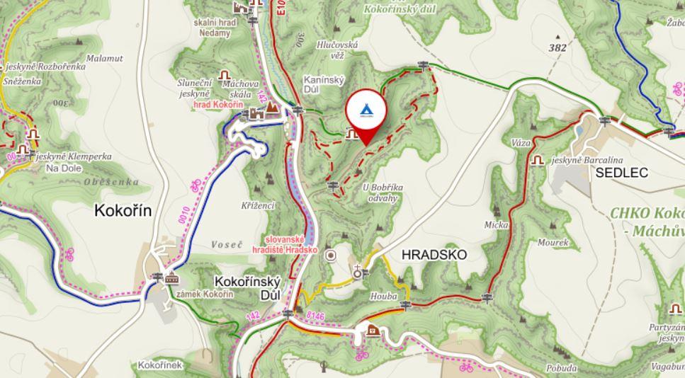Mapa kemp
