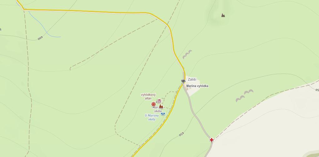 Mapa vyhlídka