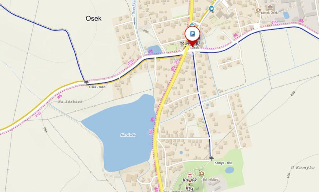 Parkování Osek