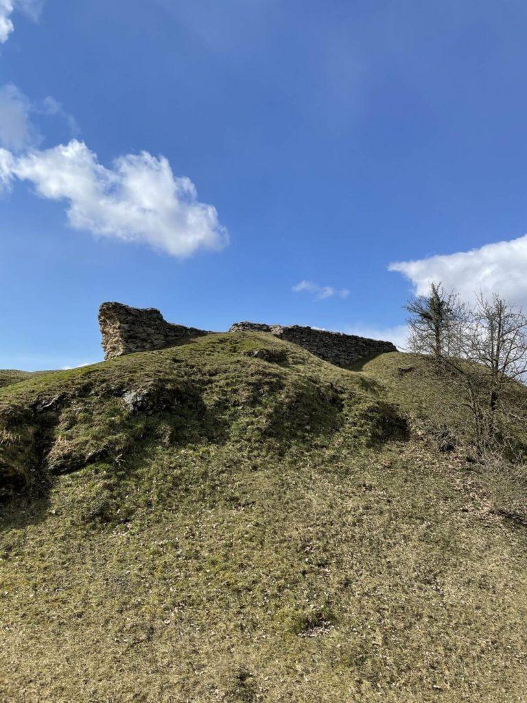 Zbytky hradu