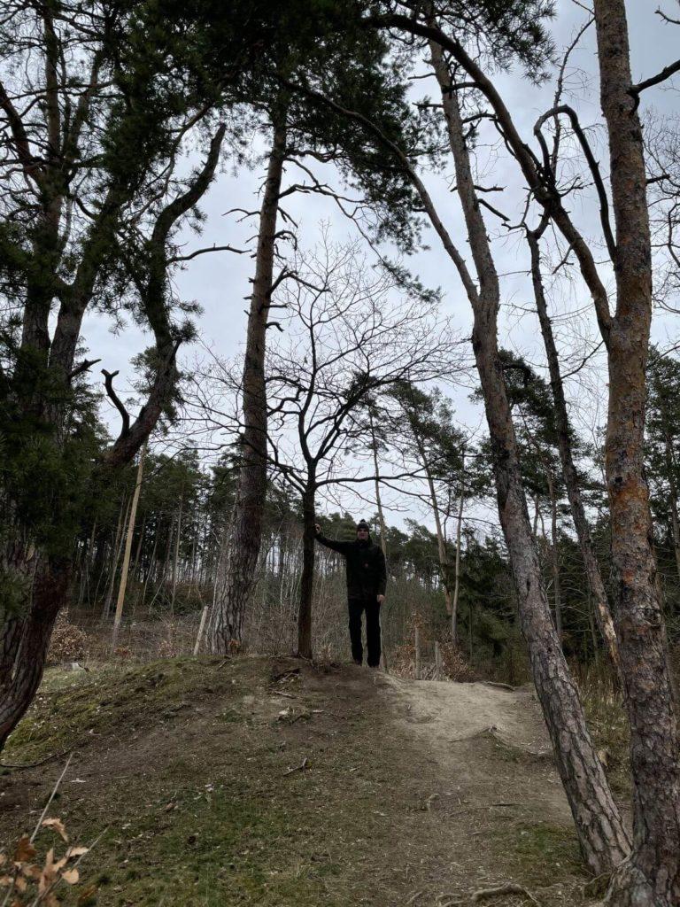 U zříceniny Kyjov