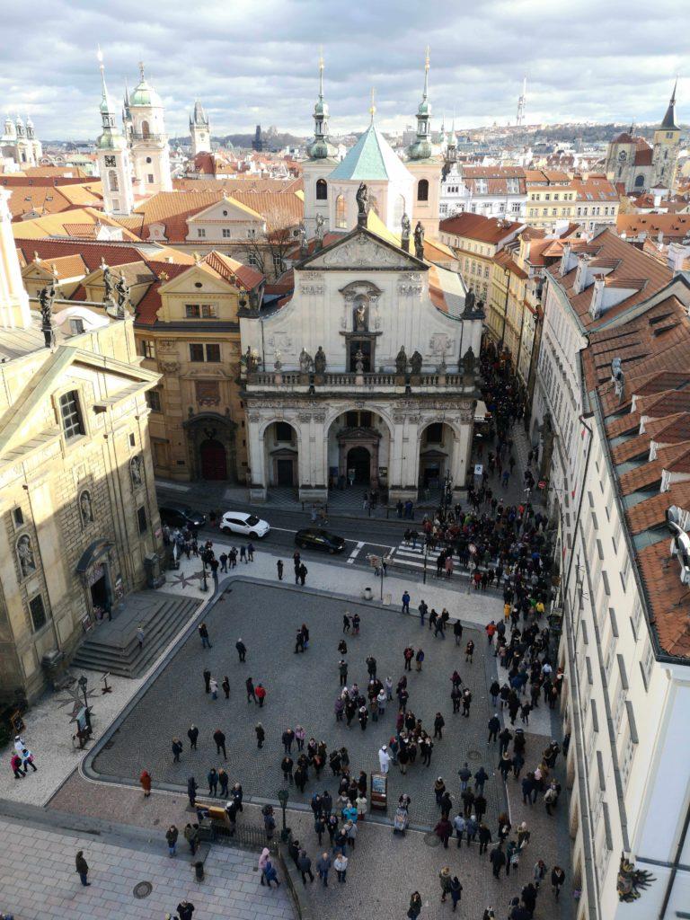 Křížovnické náměstí Praha