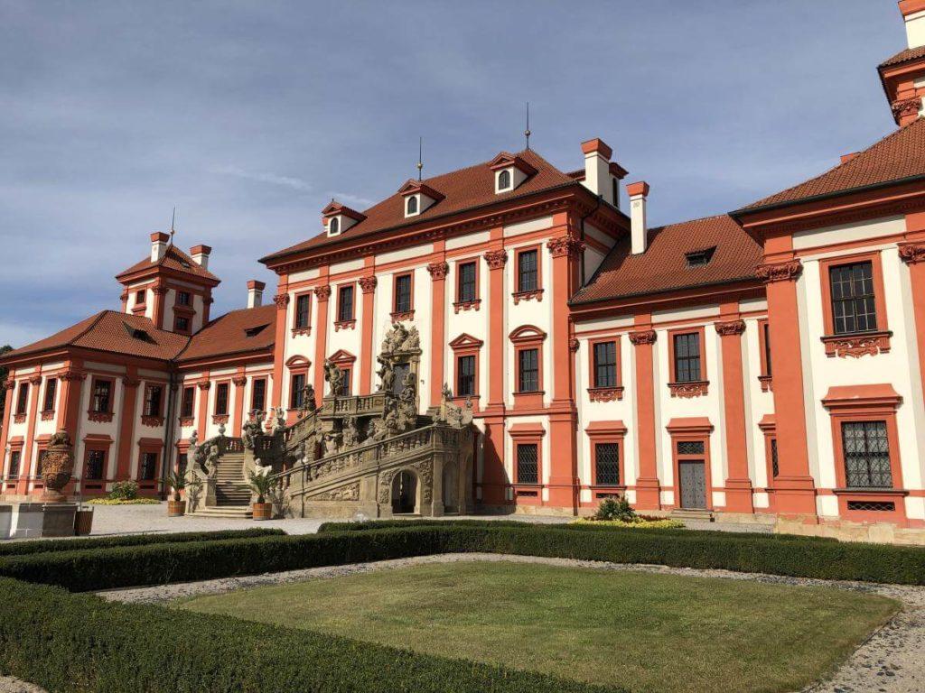 Praha zámek Troja