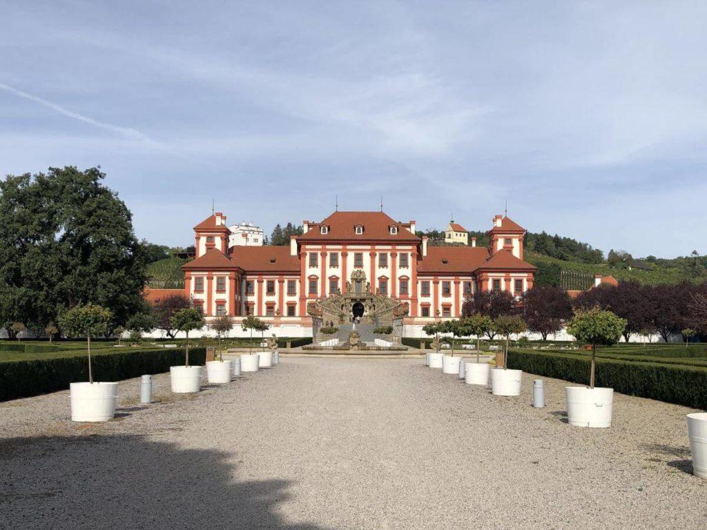 Zámecký park Troja