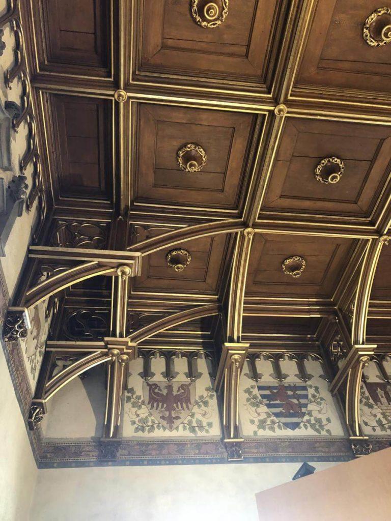 Zdobený strop