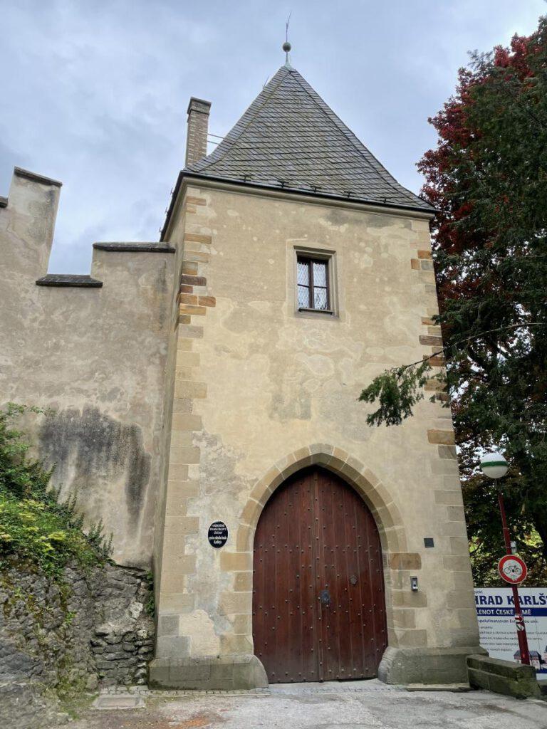 Karlštejn hlavní brána