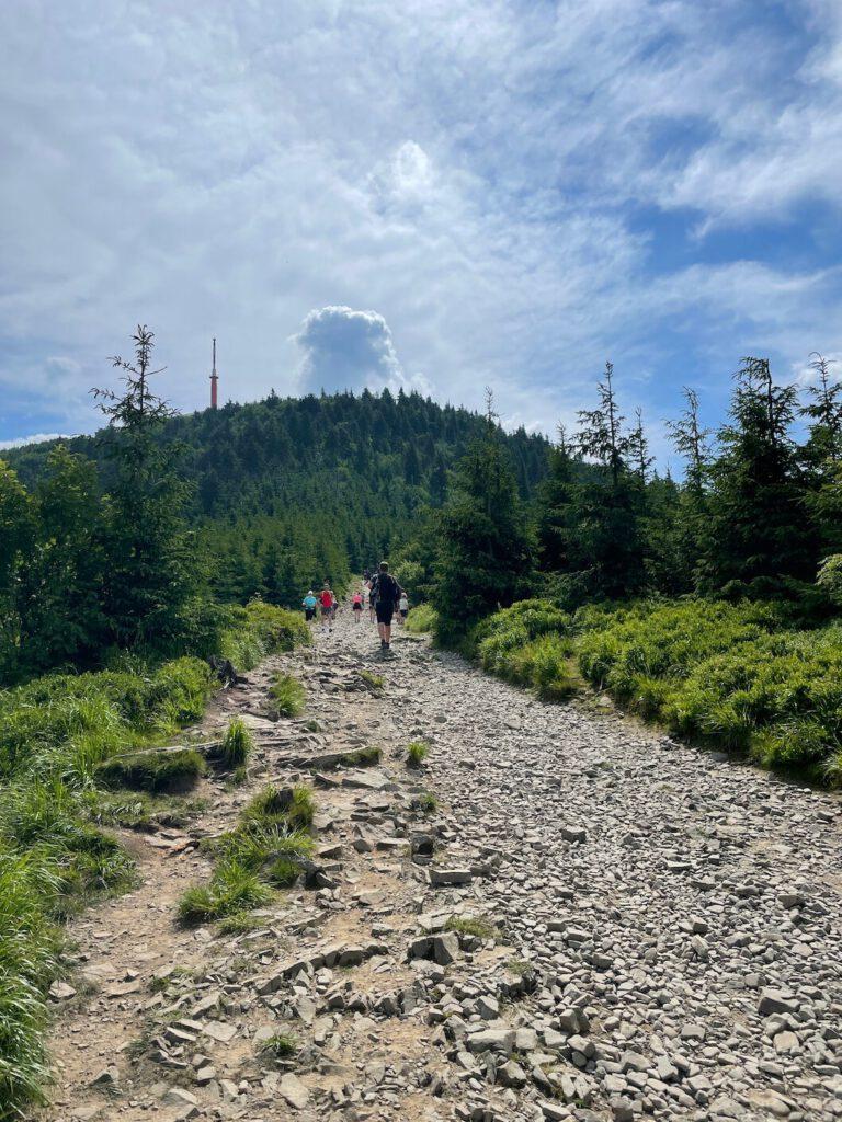 Červená stezka na Lysou horu