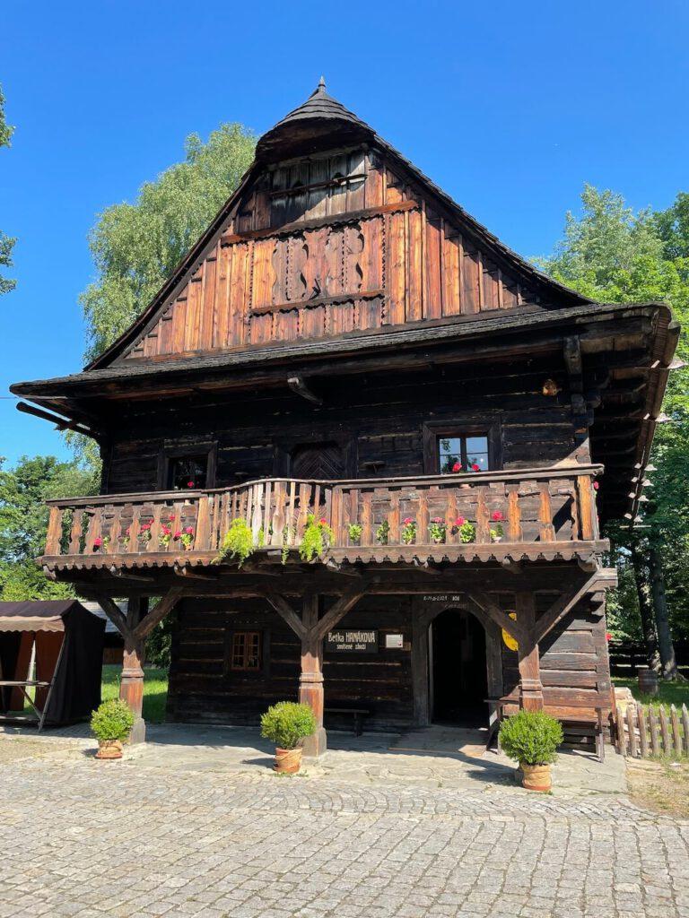 Dřevěné městečko Rožnov