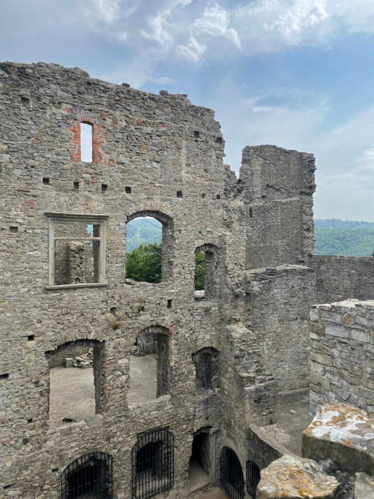 Hukvaldy zřícenina hradu