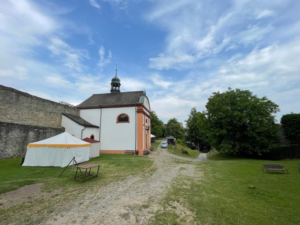 Kostel Hukvaldy