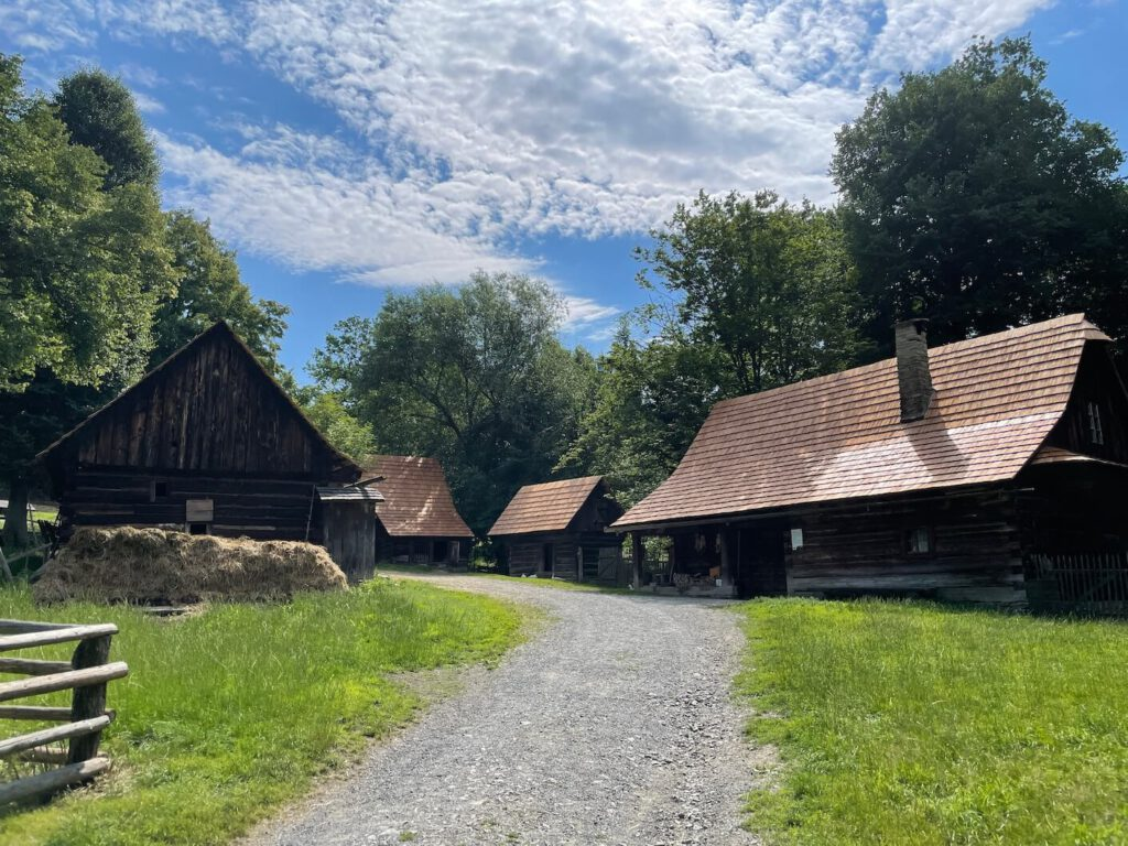Lidové stavby Rožnov