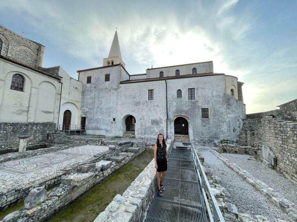 V bazilice Poreč