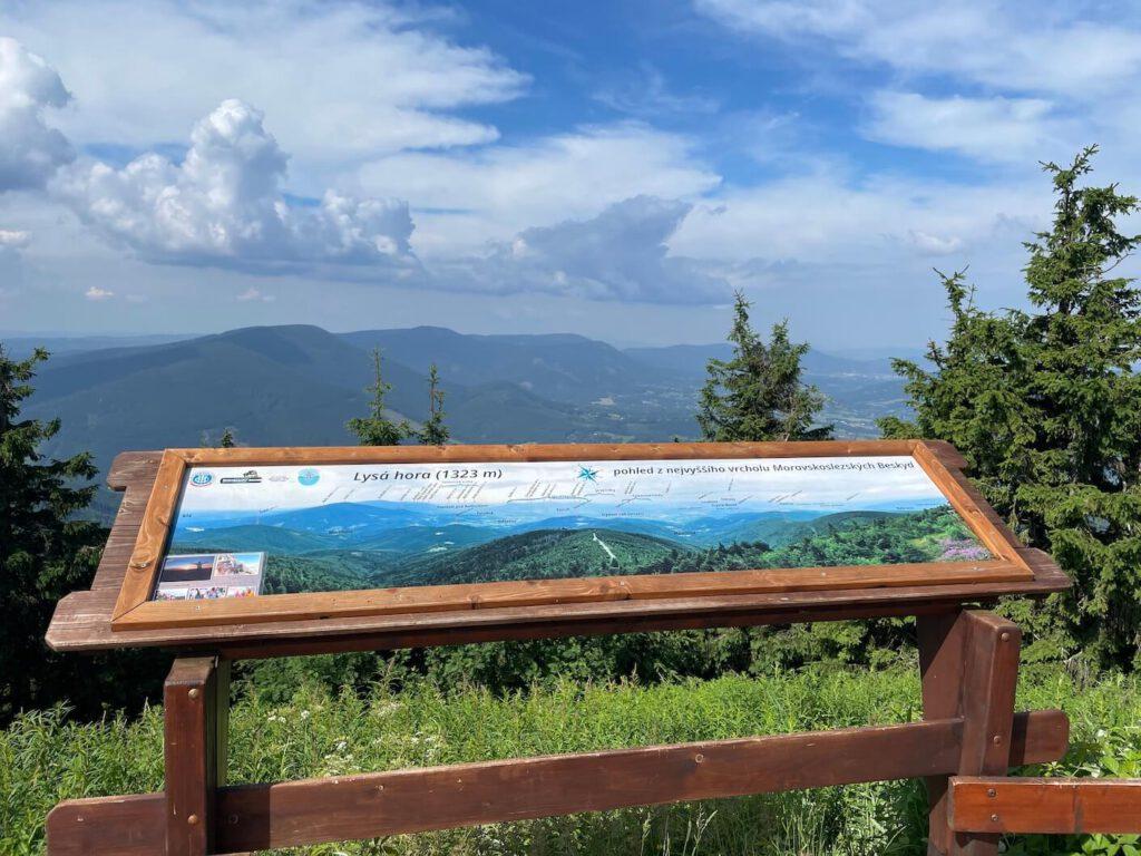 Výhled Lysá hora